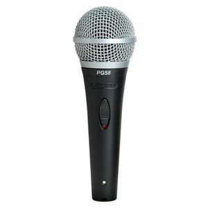 Shure PG58 Vocal Microphone - Macsound Electronics & Theatrical Supplies
