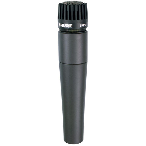 Shure SM57 Instrument Cardioid Dynamic Microphone - Macsound Electronics & Theatrical Supplies