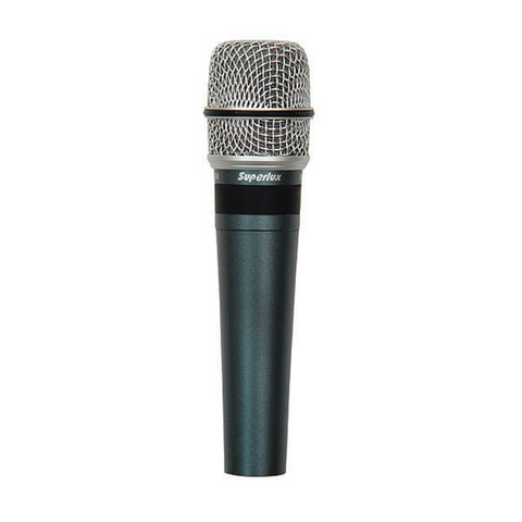 Superlux PRO-258 Dynamic Vocal & Instrument Microphone - Macsound Electronics & Theatrical Supplies