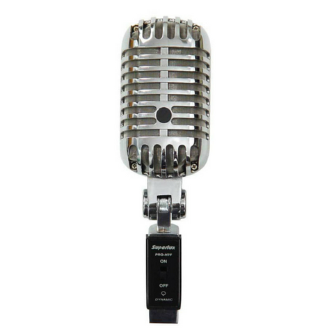 Superlux PRO-H7F Dynamic Cardioid Cage Microphone - Macsound Electronics & Theatrical Supplies