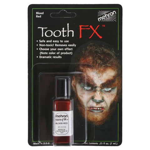 Mehron Blood Red Tooth FX 7ml