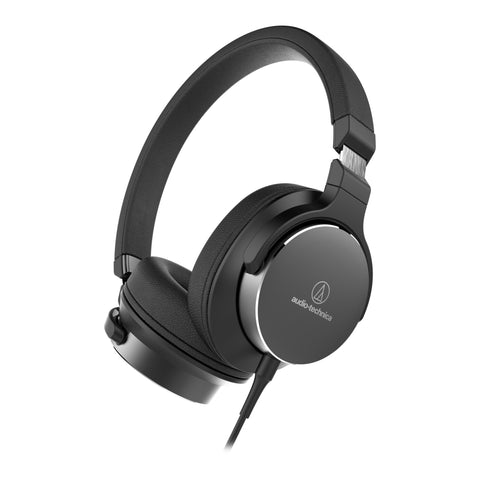 Audio Technica ATH-SR5 Hi-Res Audio Headphones with Smartphone Control - Macsound Electronics & Theatrical Supplies