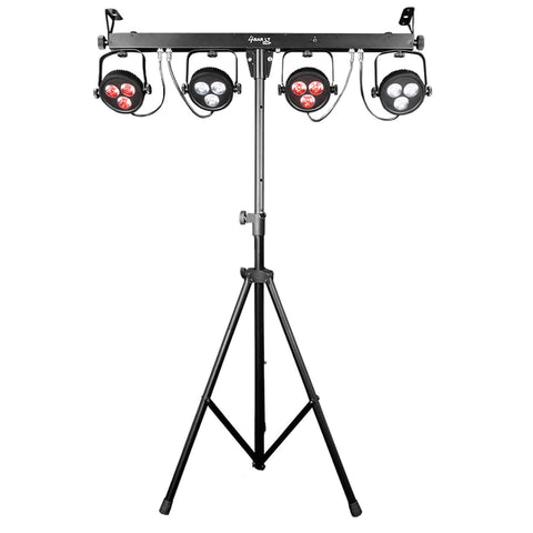 Chauvet DJ 4BAR LT USB with Tripod, Carry Bag & Footswitch