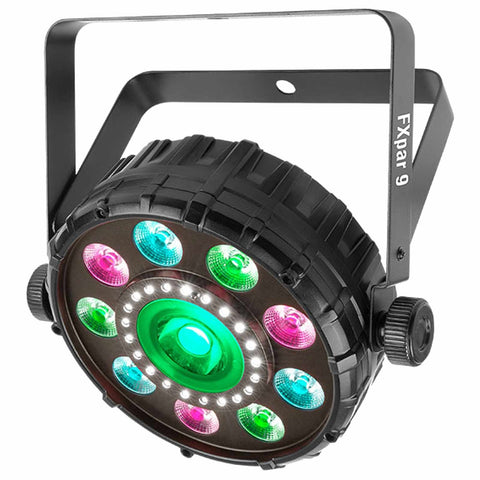 Chauvet DJ FXPAR9 LED Par Can with halo SMD strobe & single COB Core LED