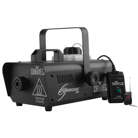 Chauvet DJ HURRICANE1000 800 watt Smoke Machine - Macsound Electronics & Theatrical Supplies