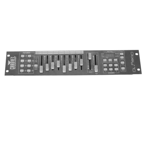 Chauvet DJ OBEY10 8 - 16 Channel DMX Controller - Macsound Electronics & Theatrical Supplies
