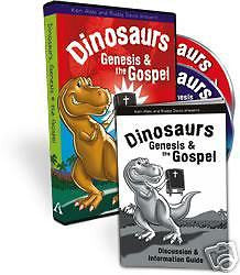 Dinosaurs, Genesis & The Gospel by Ken Ham and Buddy Davis