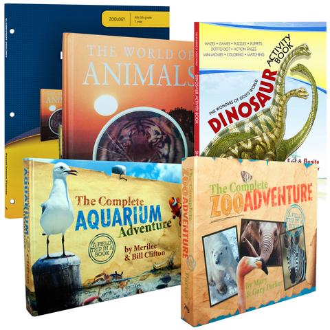 Elementary Zoology Curriculum Pack for Grades 3 4 5 6