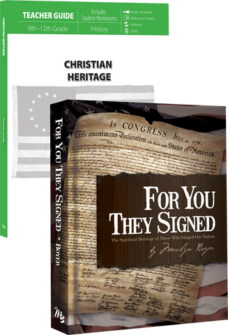 Christian Heritage Curriculum Pack