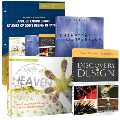 Applied Engineering: Studies of God's Design in Nature Curriculum Pack