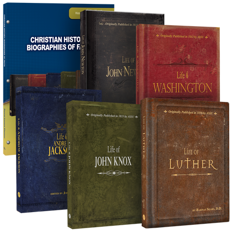 Christian History: Biographies of Faith Curriculum Pack