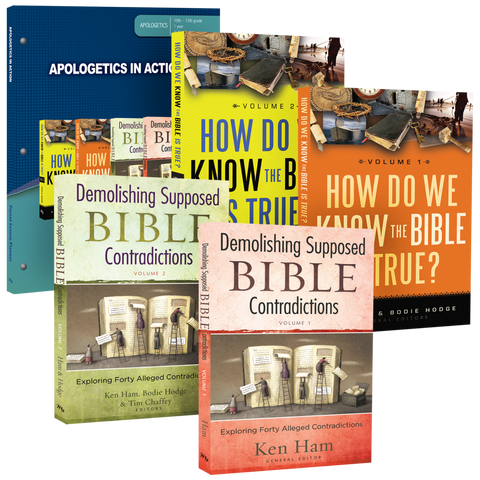 Apologetics in Action Curriculum Pack by Ken Ham