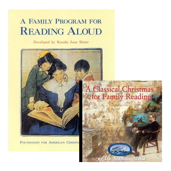 A Classical Christmas DVD & Reading Aloud Family Program by Dr. Carole Adams and Rosalie June Slater