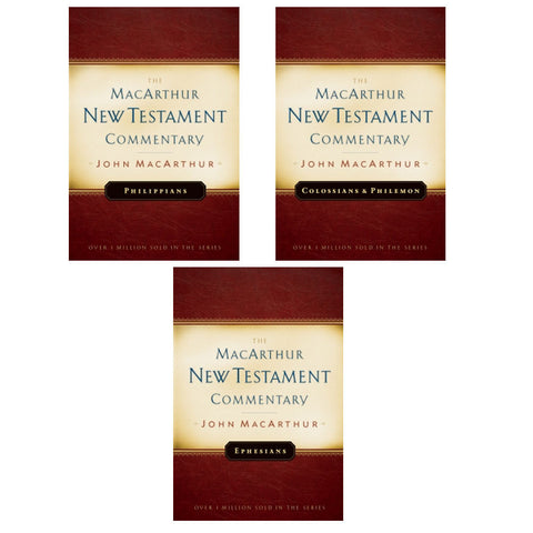 Pauline Epistles-Ephesians, Philippians, Colossians- Philemon MacArthur Commentary Set