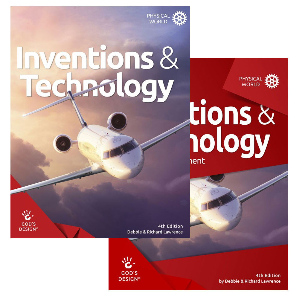 Set of God's Design for the Physical World: Inventions and Technology with Teacher Supplement