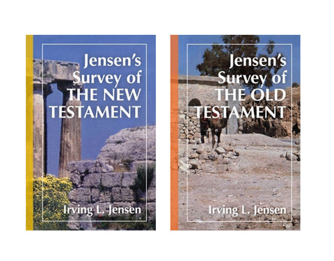 Jensen Survey 2 Volume Set Old and New Testaments by Irving L. Jensen