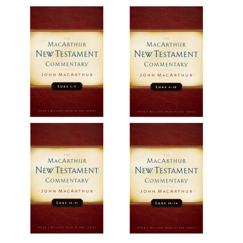 Set of Luke 1-5 6-10 11-17 18-24 MacArthur New Testament Commentary