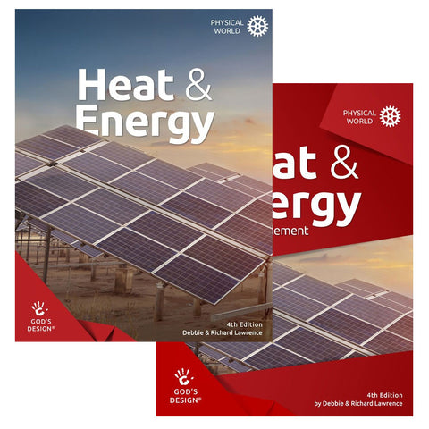 Set of God's Design for the Physical World: Heat & Energy with Teacher Supplement