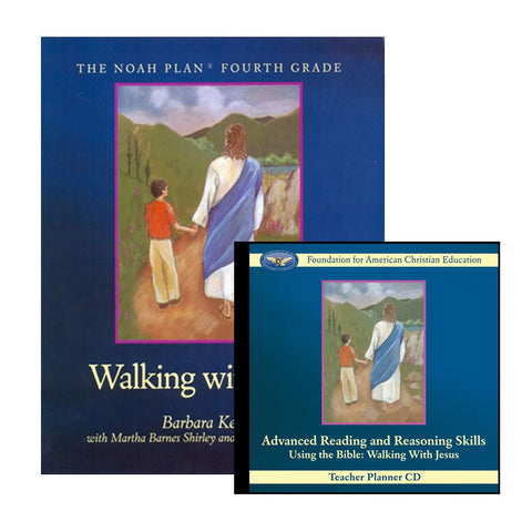 Advanced Reading and Reasoning Skills: Walking with Jesus Student Handbook CD by Barbara Keller, Rosemarie Ricciardi and Martha Shirley