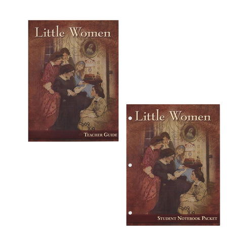 Set of Little Women Teacher Guide and Student Notebook Packet