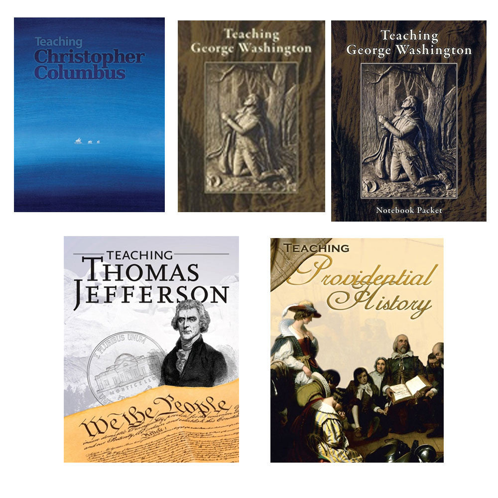 Set of Teaching Christopher C,George W, Thomas J and Providential History