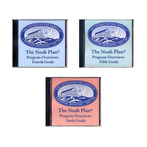 The Noah Plan Program Overviews on CD by Barbara Keller Grade 4 5 6