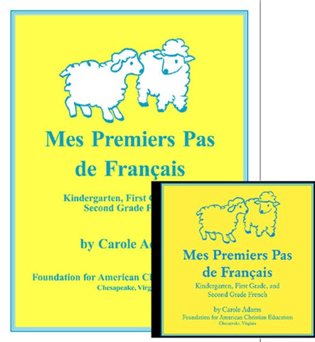 Mes Premiers Pas de Français French Primer Notebook & CD French Starter Lessons