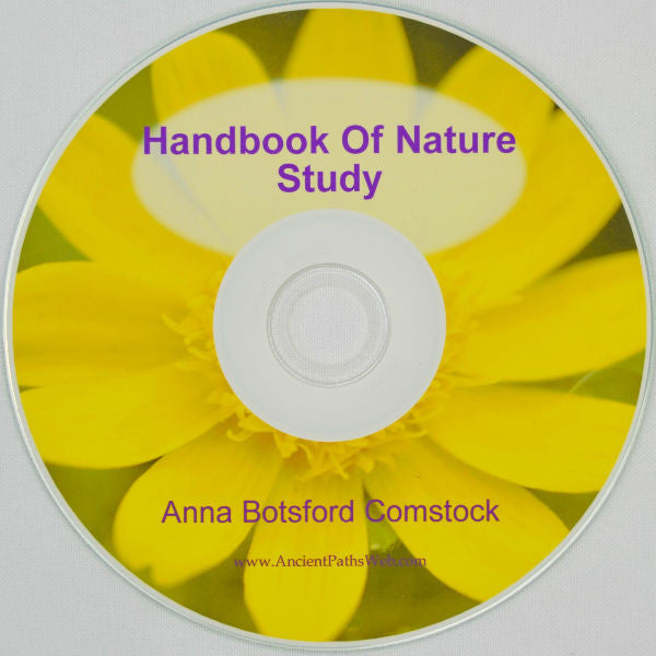 Handbook of Nature Study by Anna Botsford Comstock pdf on CD-ROM Charlotte Mason