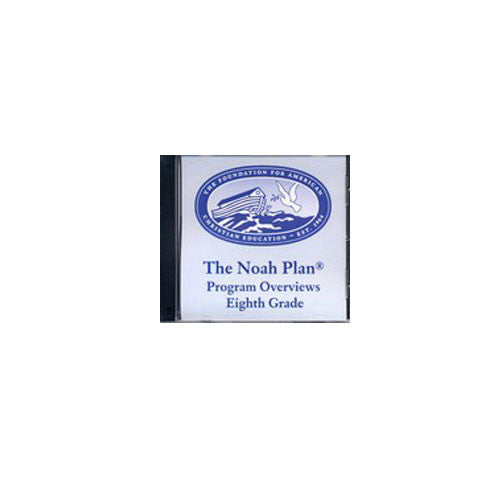 The Noah Plan Program Overviews On CD by Barbara Grade 7 8