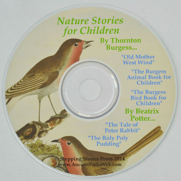 Nature Stories for Children [PDF on CD-ROM] by Beatrix Potter & Thornton Burgess