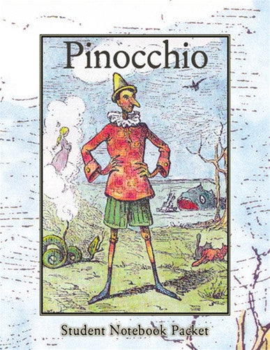 Set Pinocchio Teacher Guide, Student Notebook Packet and Plimoth Plantation Day