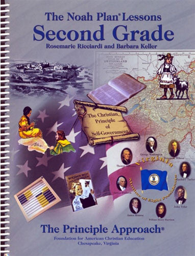 Set of The Noah Plan Lessons Kindergarten First Second Third Grade Curriculum
