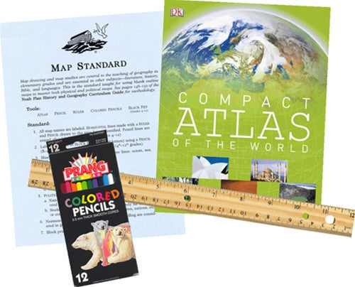 The Noah Plan Map Maker's Kit - Tools for Geography Lessons