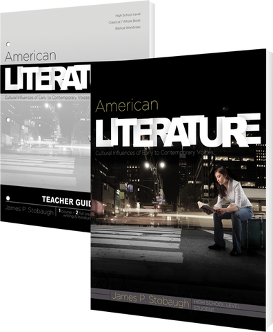 American Literature Curriculum Pack by James Stobaugh