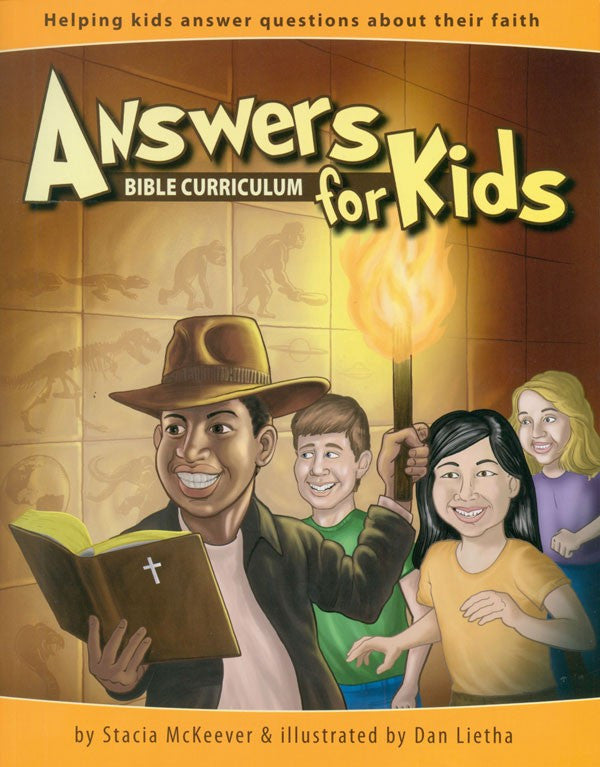 Answers Bible Curriculum for Kids Master Books by Stacia McKeever and Dan Lietha
