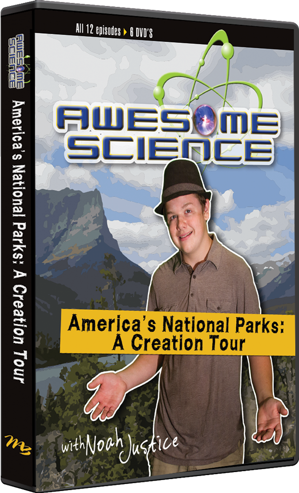 America's National Parks: A Creation Tour DVD Video Set by Kyle Justice
