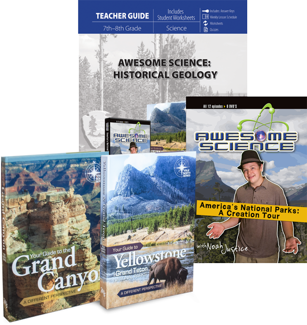 Awesome Science: Historical Geology Curriculum Set