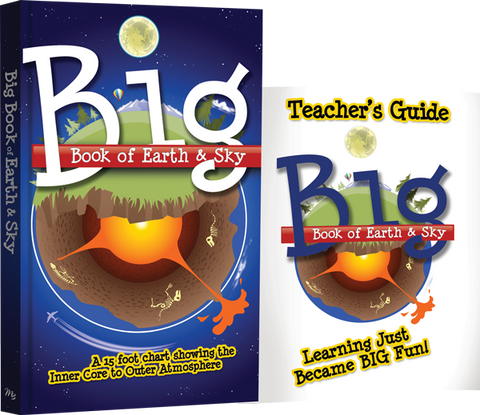 Big Book of Earth & Sky Pack by Bodie Hodge and Laura Welch HC with Teacher's Guide