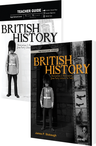 British History Curriculum Pack by James Stobaugh