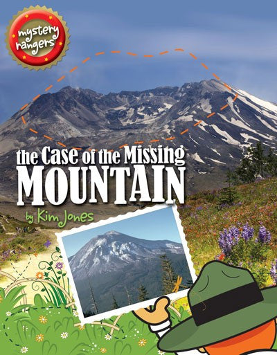 The Case of the Missing Mountain by Kim Jones Activity Book Mountains Puzzles