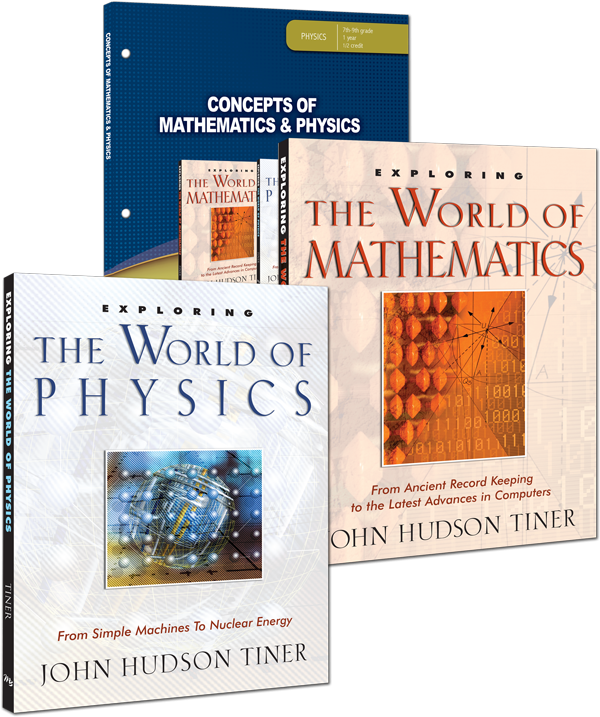 Concepts of Mathematics & Physics Curriculum Pack Math and Science for Grade 7 8 9 Jr