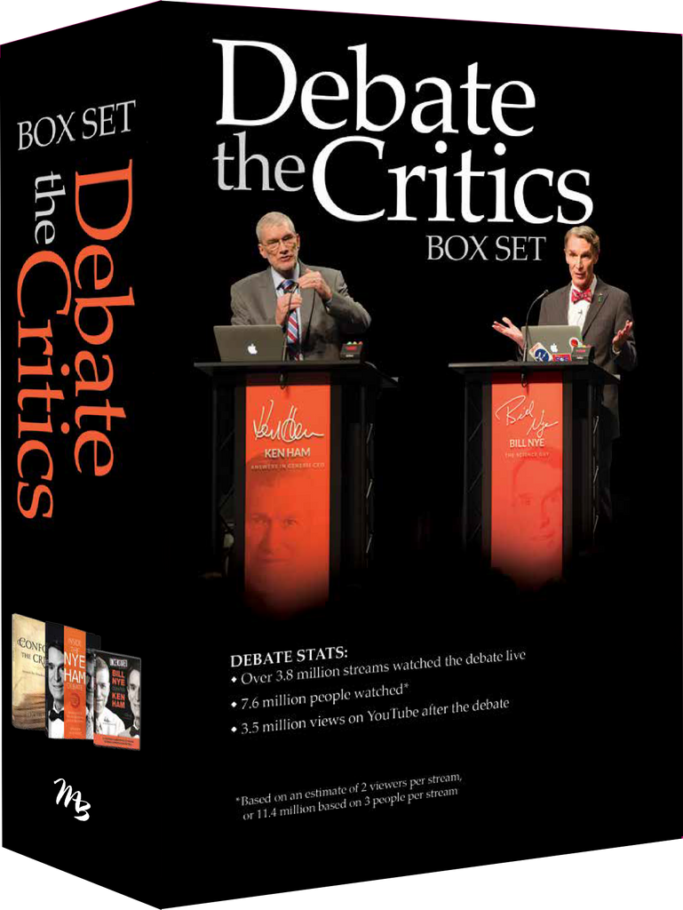 Debate the Critics Box Set by Ken Ham and Bodie Hodge