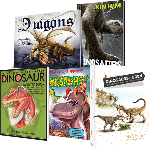 Discover Dinosaurs for Children Set of 5 Books