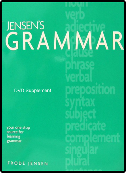 Jensen's Grammar and DVD Bundle by Frode Jensen One Stop Source Jr High Grade 7 8 9