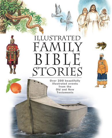 Illustrated Family Bible Stories Children Psalms Proverbs