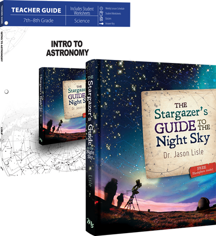 Intro to Astronomy Curriculum Pack by Dr. Jason Lisle for Grade 7 8 9
