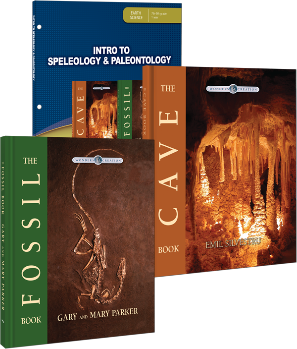 Intro to Speleology & Paleontology Curriculum Pack for Jr High Grade 7 8 9