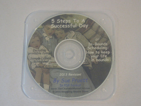5 Steps to a Successful Day [PDF E-Book on CD-ROM] by Sue Pruett - Scheduling