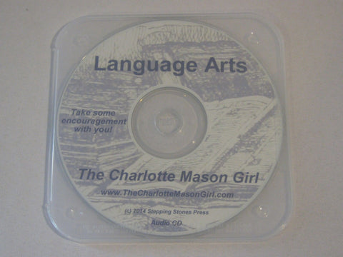 Language Arts – Naturally, the Charlotte Mason Way  [Audio CD]  by Sue Pruett