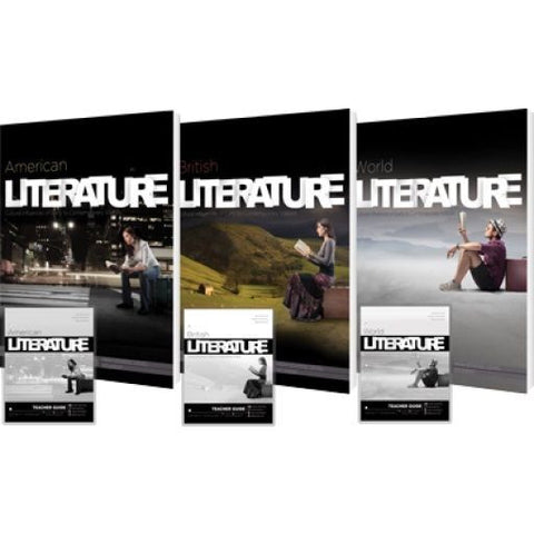 Literature Curriculum Pack by James Stobaugh for Sr High Grade 10 11 12